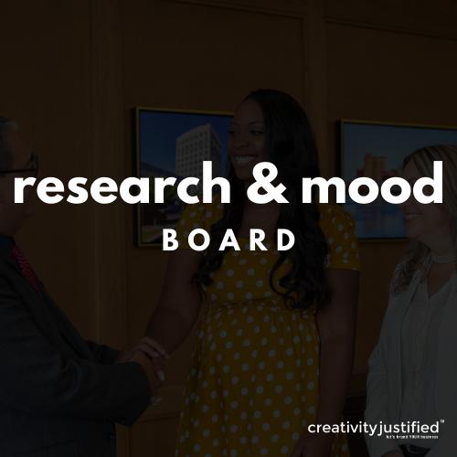 Research & Mood Board