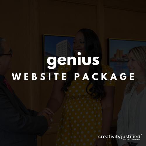 Genius Package Website (High Level)