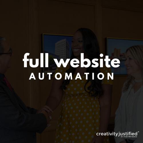 Full Website Automation (Existing WordPress Website)